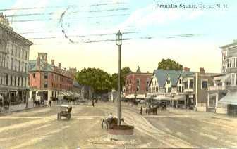 franklin square upper square postcards