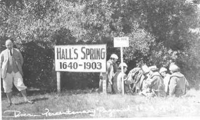 Hall's Spring