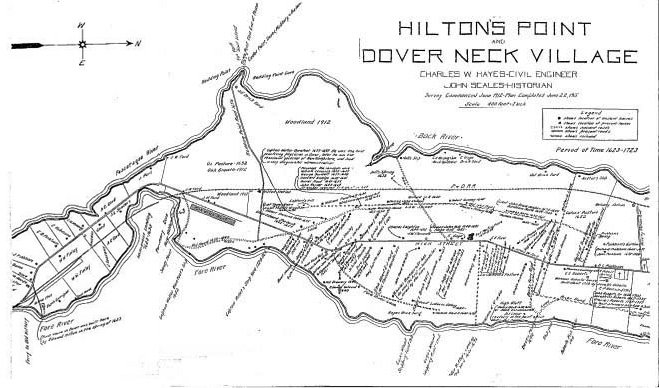 Hiltons Point Map