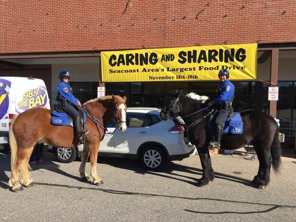 Mounted Patrol Sharing and Caring Drive