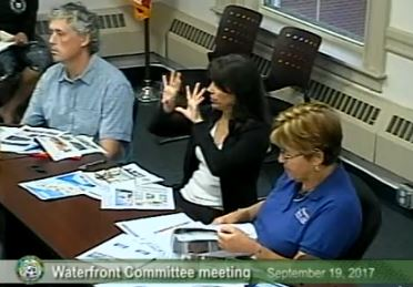 Waterfront Committee, 9/19/2017